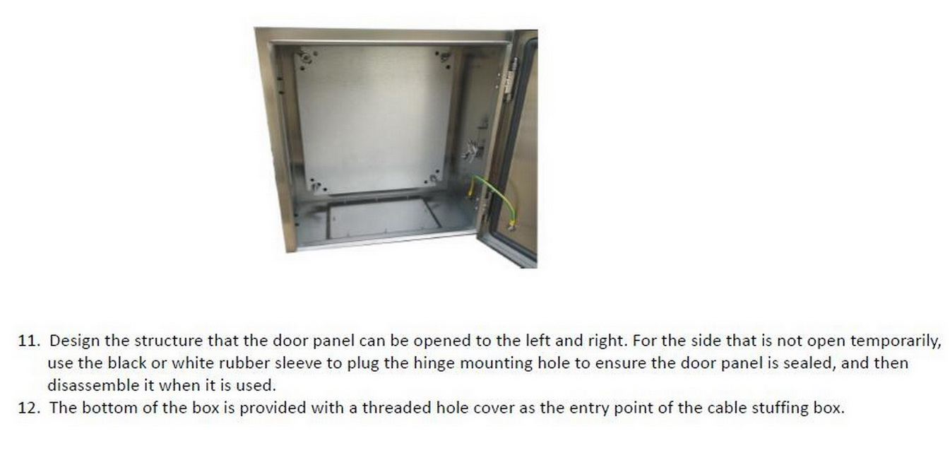 Power Control System IP65 Electrical Panel Enclosure