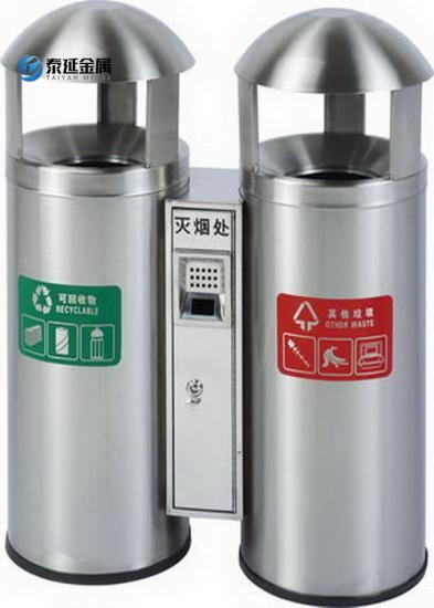 Stainless Steel Garbage Cans And Bins