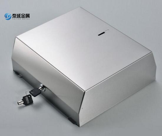 Stainless steel paper towel dispenser custom