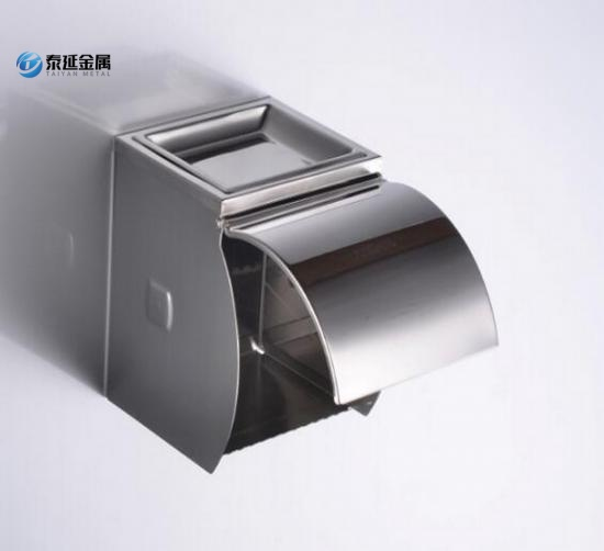SS304 roll paper holder with ashtray