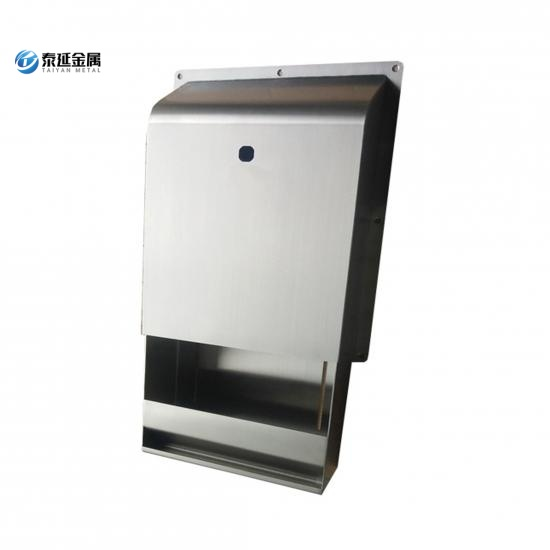 Wall mounted toilet paper towel dispenser