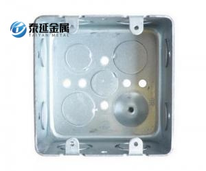us standard switch socket junction box
